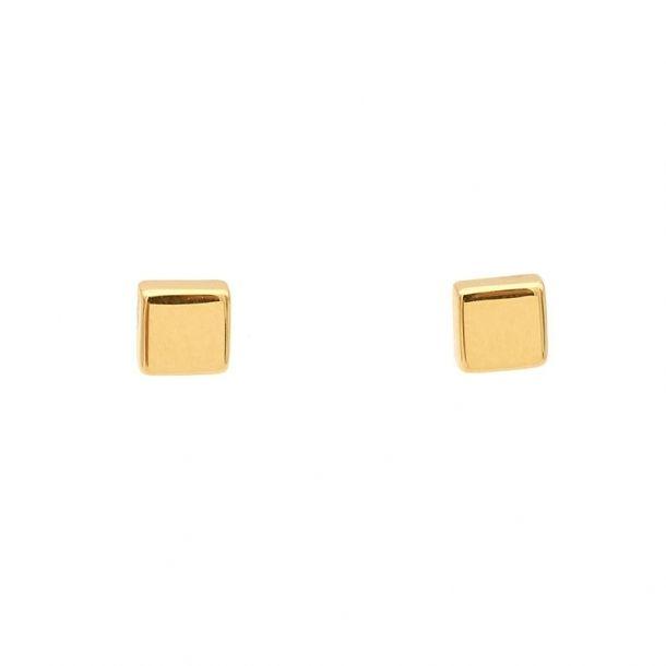 Pendientes de oro amarillo  - 1