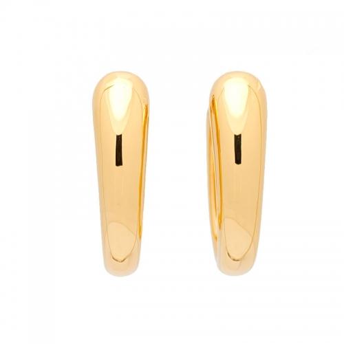 Pendientes de oro amarillo.  - 1