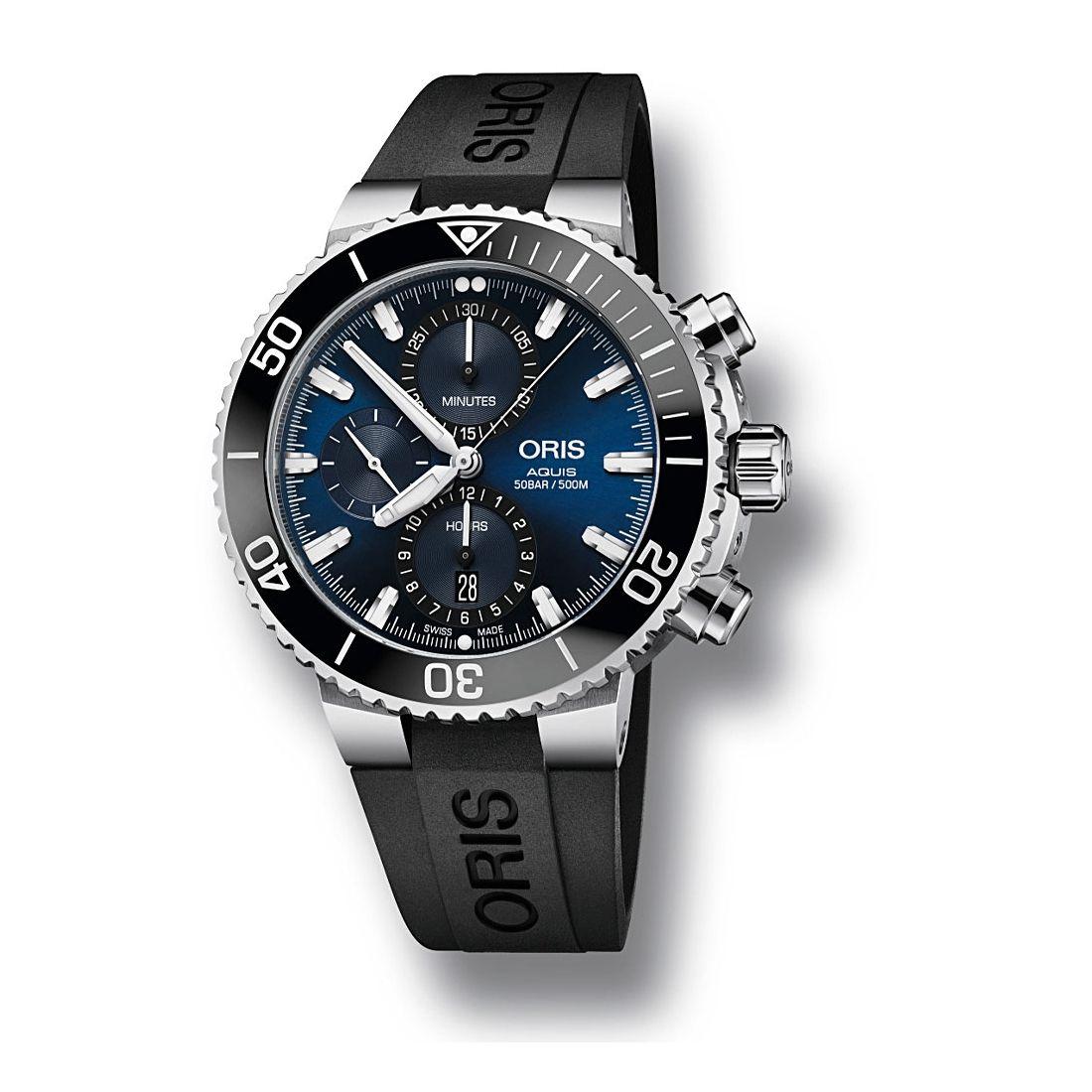 Reloj Oris Aquis Chronograph - 01 774 7743 4155-07 4 24 64EB  - 1