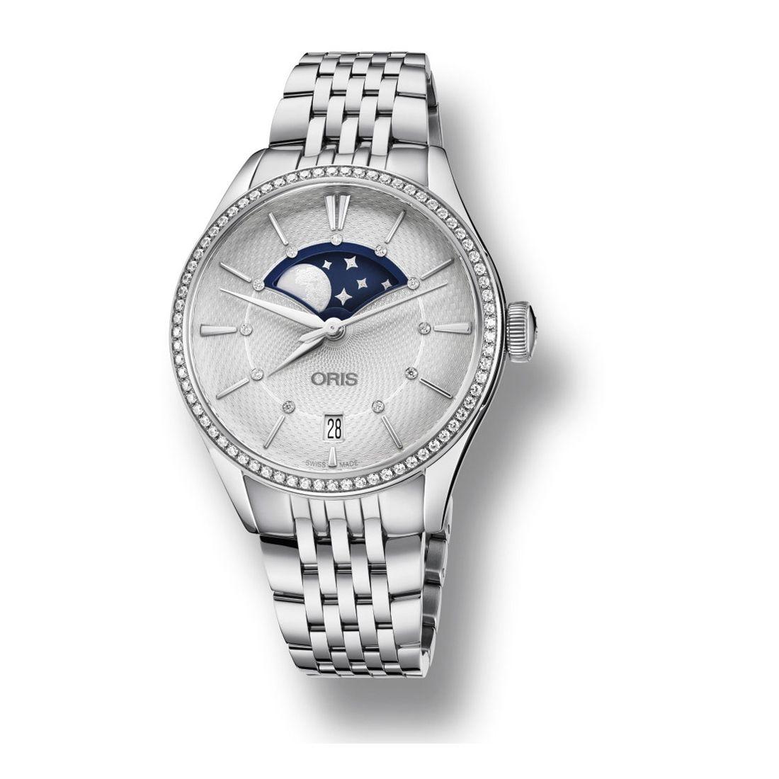 Reloj Oris Artelier Grande Lune Diamonds 01 763 7723 4951-07 8 18 79  - 1