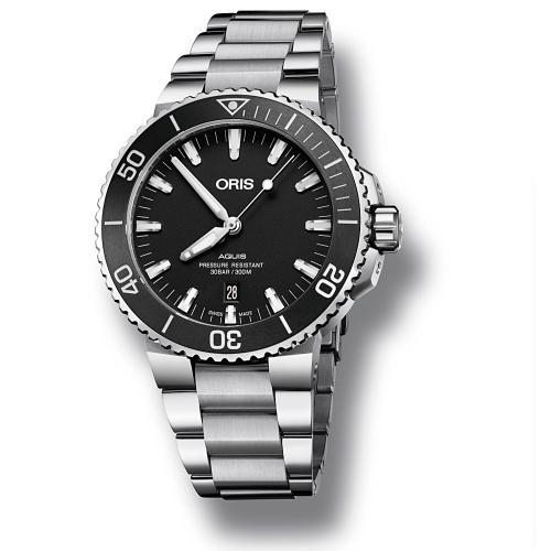 Reloj Oris Aquis Date - 01 733 7730 4154-07 8 24 05PEB  - 1