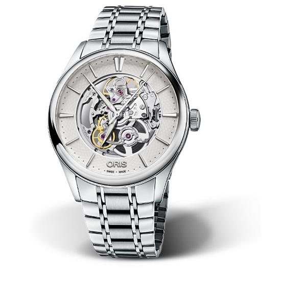 Reloj Oris Artelier Skeleton - 01 734 7721 4051-07 8 21 88  - 1