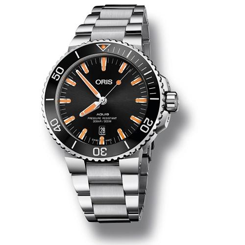 Reloj Oris Aquis Date - 01 733 7730 4159-07 8 24 05PEB  - 1