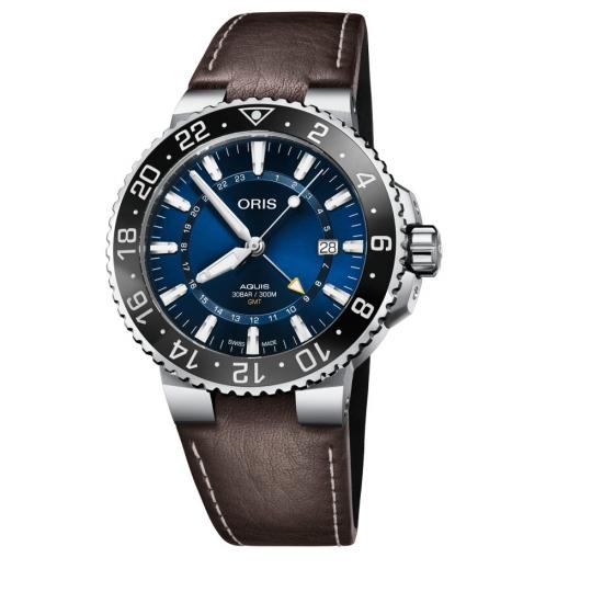Reloj Oris Aquis GMT Date - 01 798 7754 4135-07 5 24 10EB  - 1